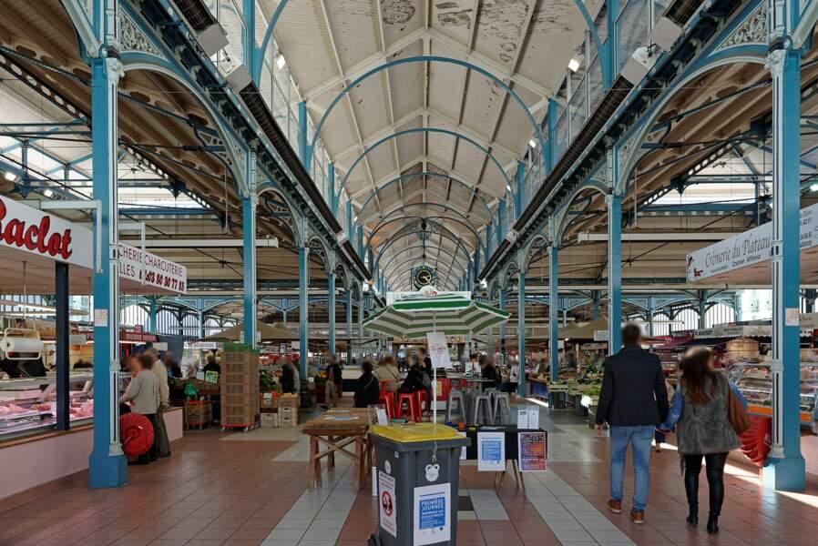 Les Halles centrales de Dijon