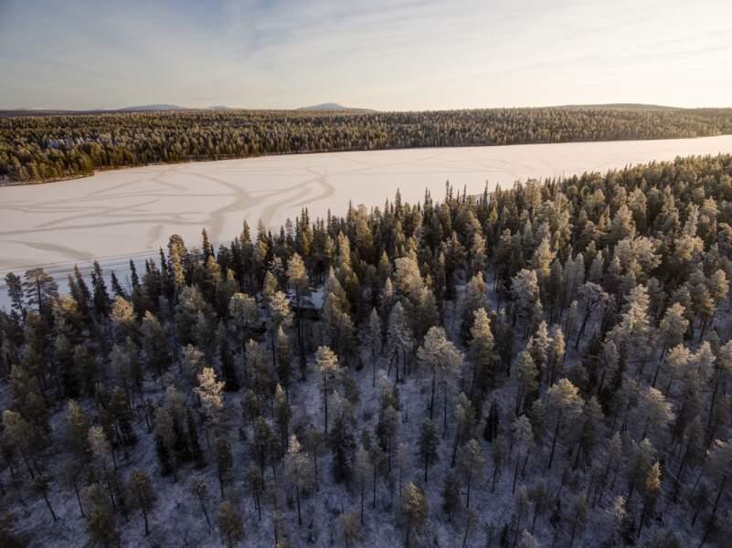 Les aurores boréales en toute sérénité en Finlande