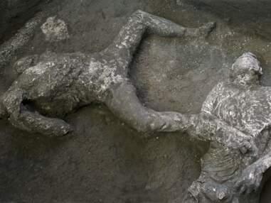 Deux victimes de l'éruption du Vésuve découvertes dans les ruines de Pompéi