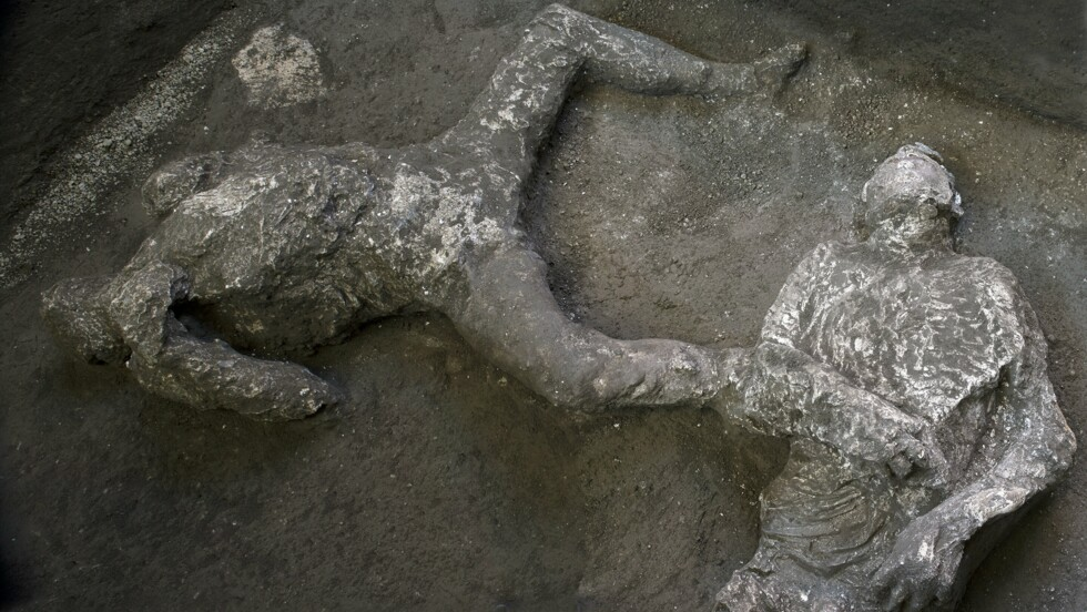 A Pompéi, l'incroyable découverte de deux victimes de l'éruption du Vésuve