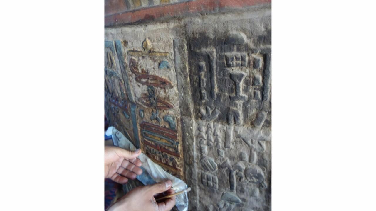 Des chercheurs restaurent les inscriptions d'un temple égyptien vieux de 2000 ans