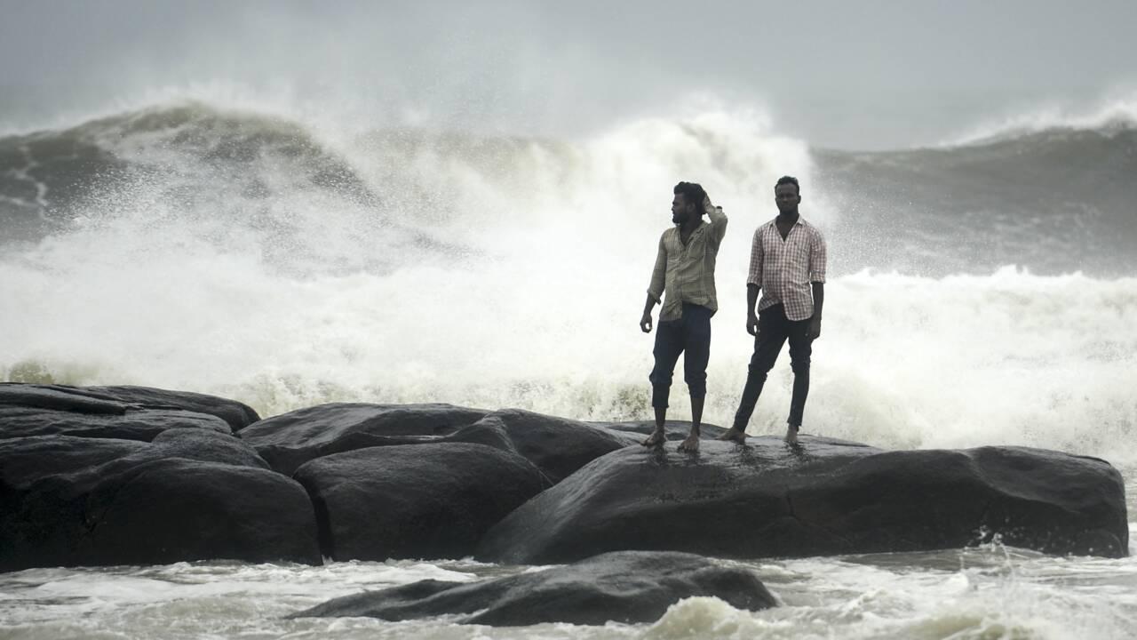 Le Sud-Est de l'Inde se prépare à l'arrivée d'un cyclone