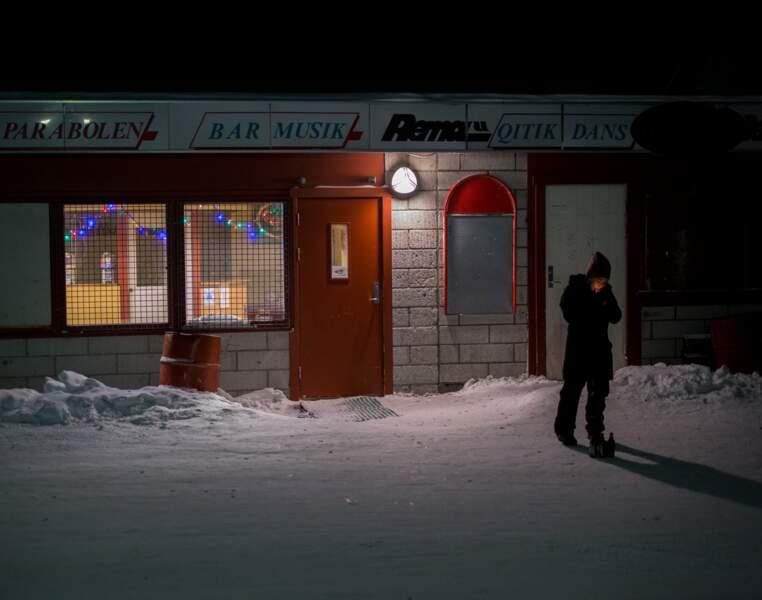 L'unique bar du village d'Uummannaq