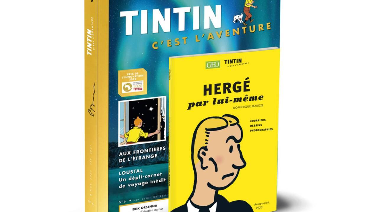 """Sylvain Tesson : """"Au fil de ses aventures, on a l'impression que Tintin visite un musée en avion!"""""""
