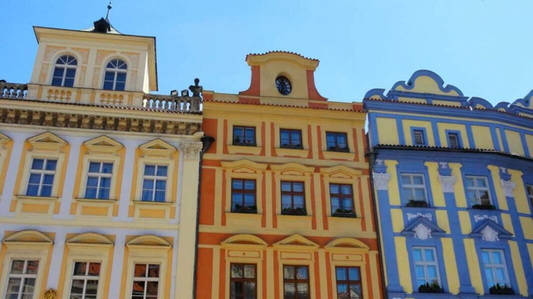 Façades colorées de la Vieille-Ville