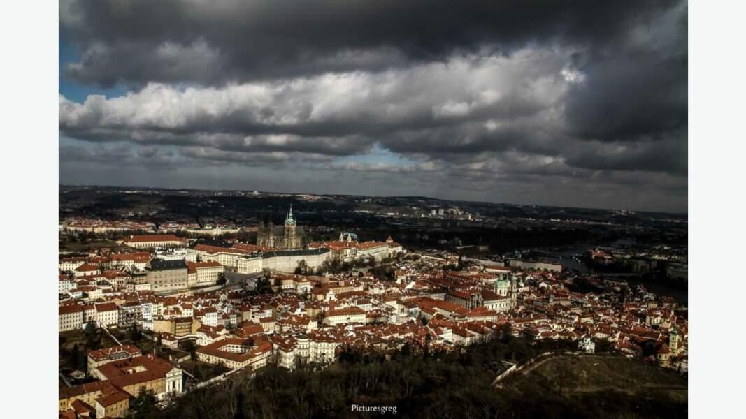 Vue générale de Prague