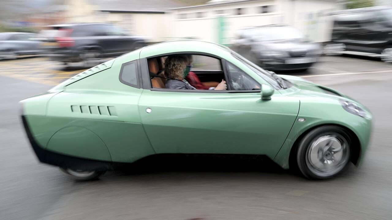 """Un fabricant de voitures à hydrogène mise sur la """"révolution verte"""" britannique"""