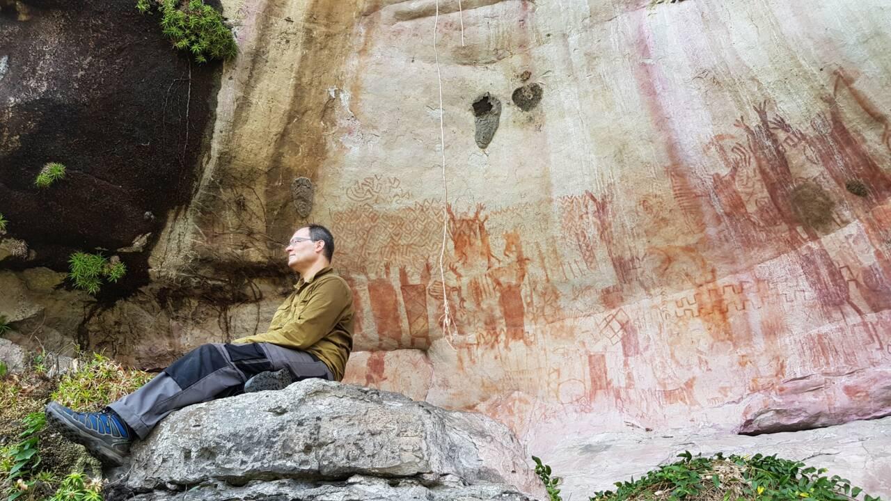 Des milliers de peintures rupestres vieilles de 12000 ans révélées dans la jungle colombienne
