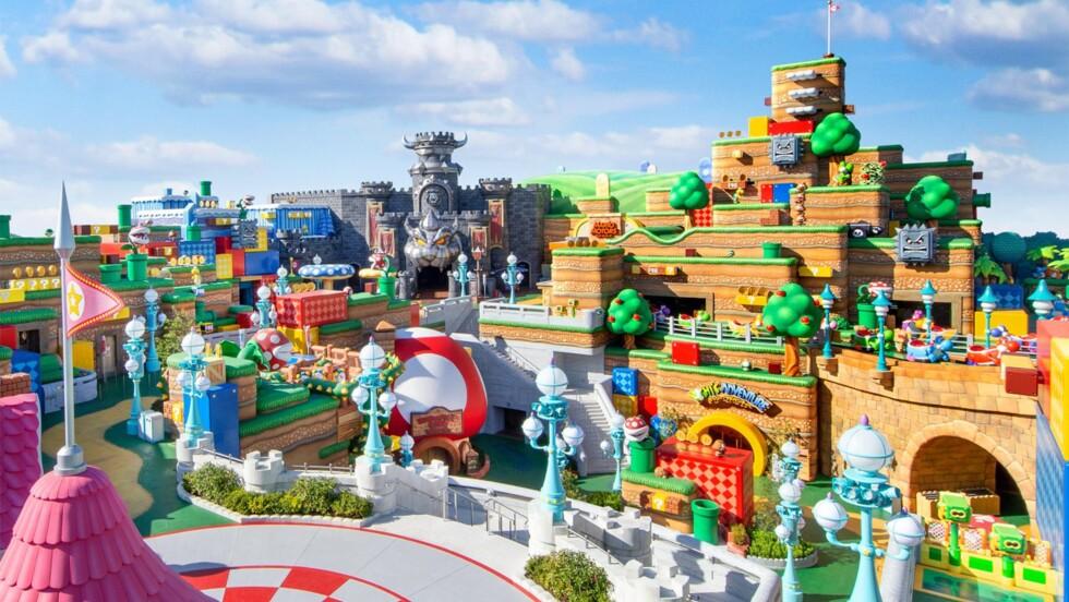 Le parc d'attractions Super Nintendo World ouvrira ses portes début 2021 au Japon