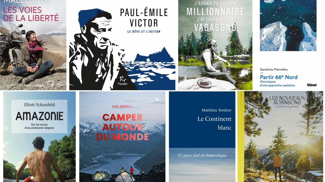 Notre sélection de livres d'aventure à offrir pour les fêtes de fin d'année
