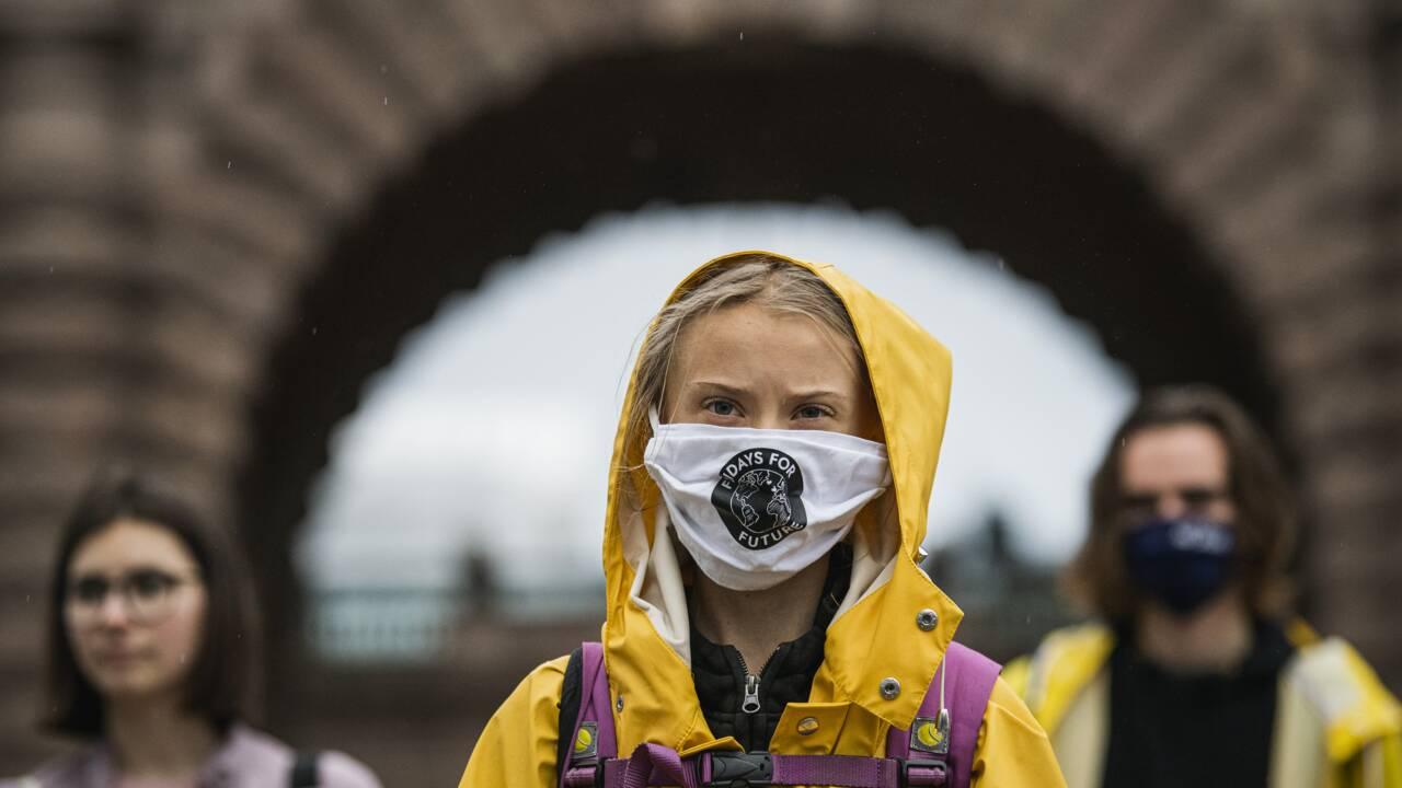 "Climat: Greta Thunberg critique les ""promesses vides"" cinq ans après l'accord de Paris"