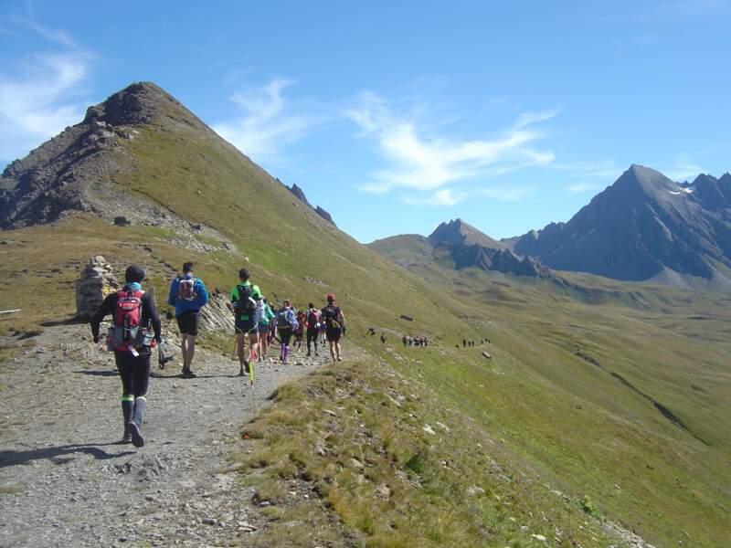 L'Ultra trail du Mont-Blanc, en France