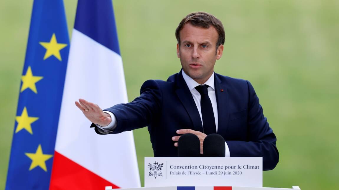 Explications en vue lundi entre Macron et la Convention Climat