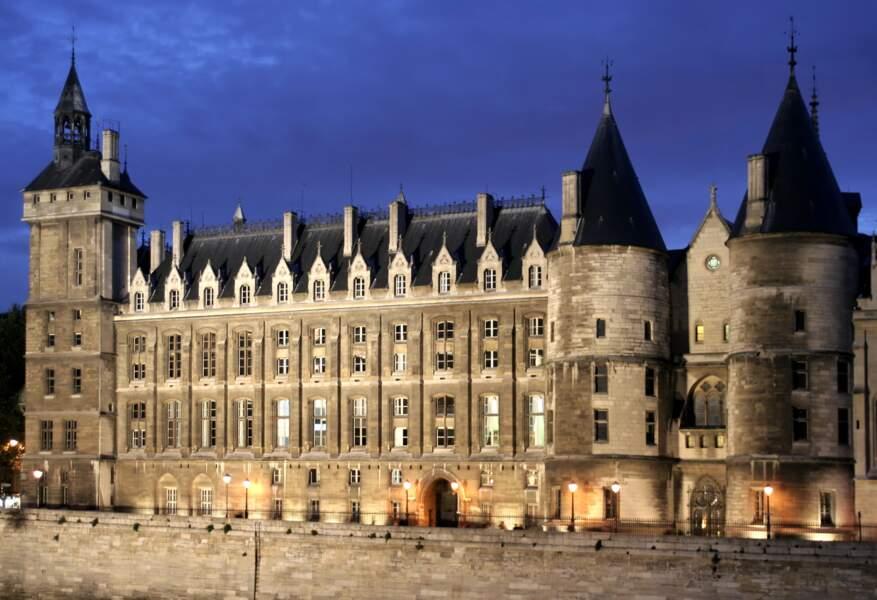 La conciergerie de Paris, en France