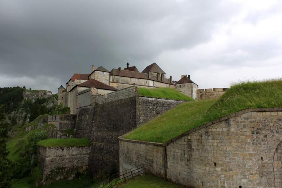 Le fort de Joux dans le Doubs, en France