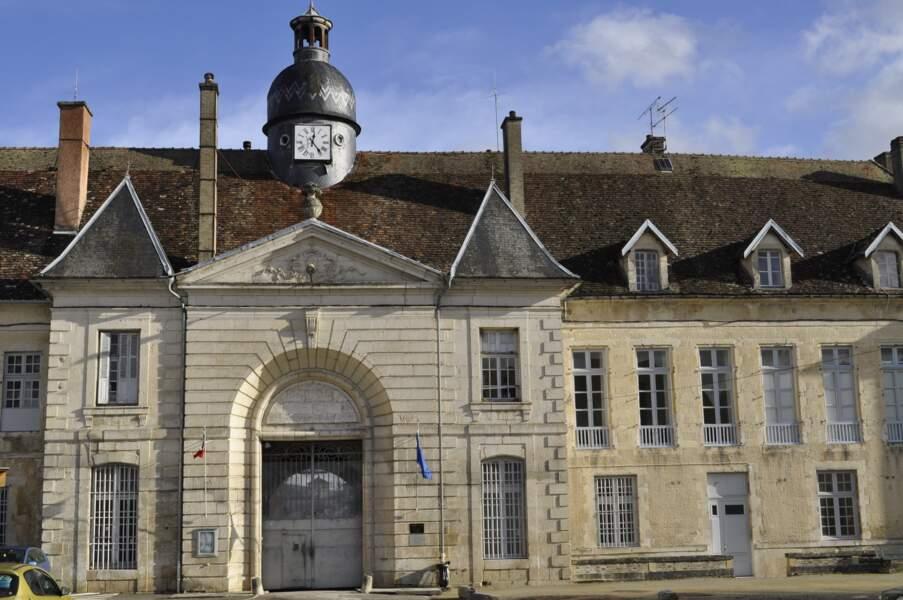 L'abbaye de Clairvaux, à Ville-sous-la-Ferté en France