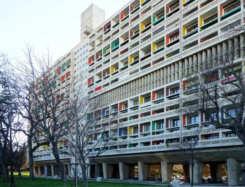 L'hôtel Le Corbusier, à Marseille