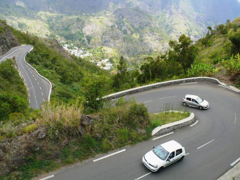 La Route Nationale 5, à La Réunion