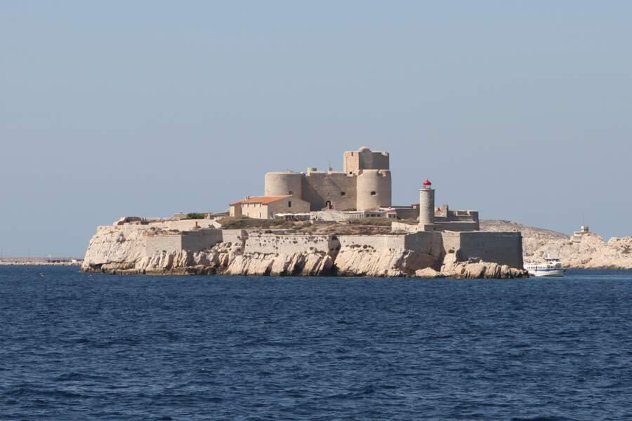 Le château d'If, en France