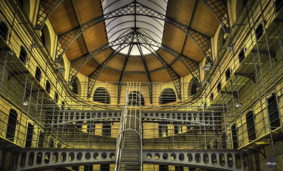 La prison de Kilmainham à Dublin, en Irlande
