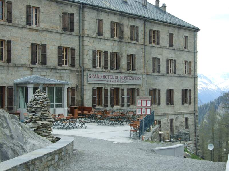 Le Grand Hôtel du Montenvers, à Chamonix