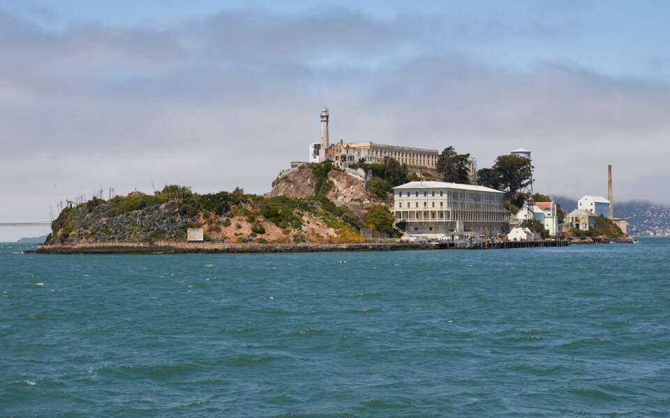 La prison d'Alcatraz, aux Etats-Unis