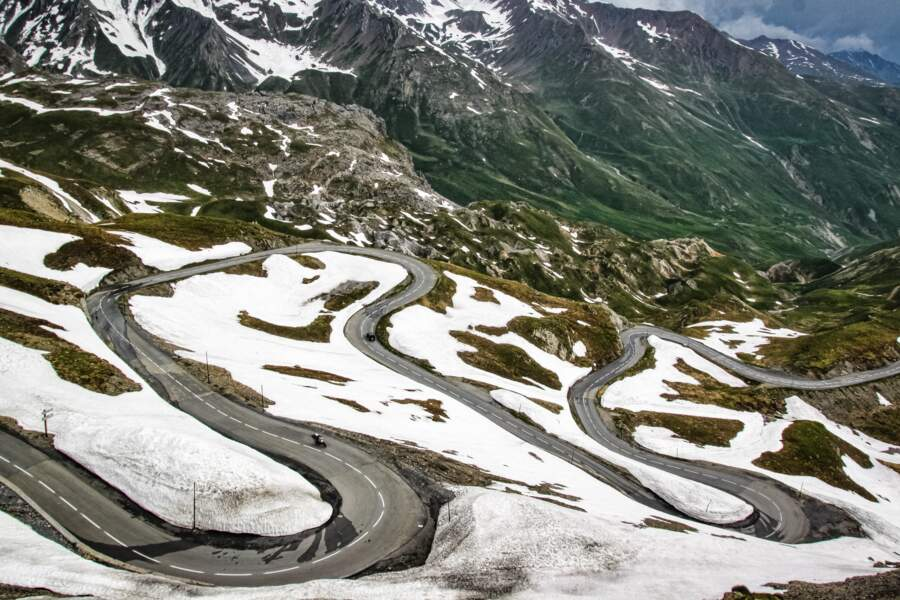 La route du Galibier