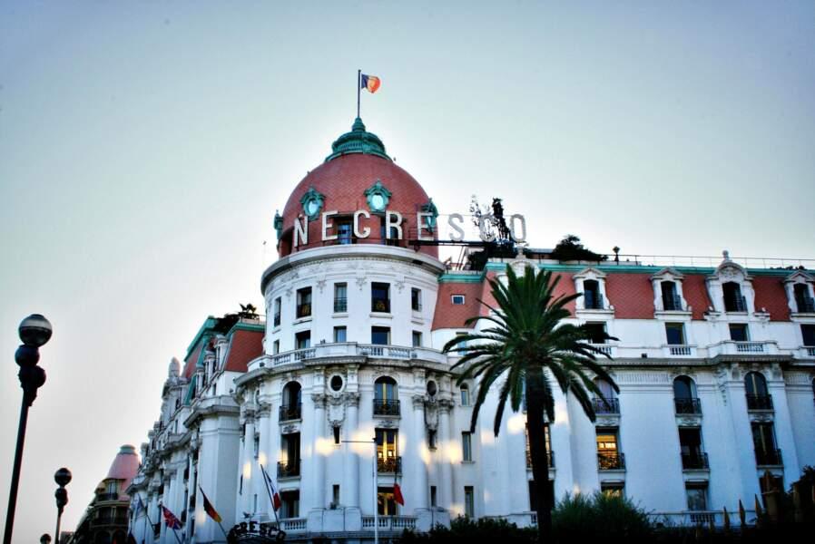 Le Negresco, à Nice