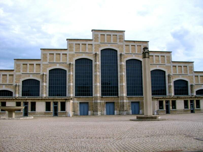 La Halle Tony Garnier à Lyon, en France