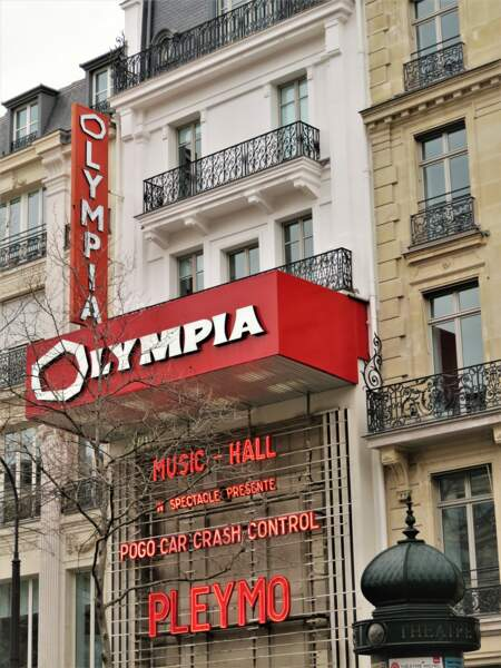 L'Olympia, à Paris