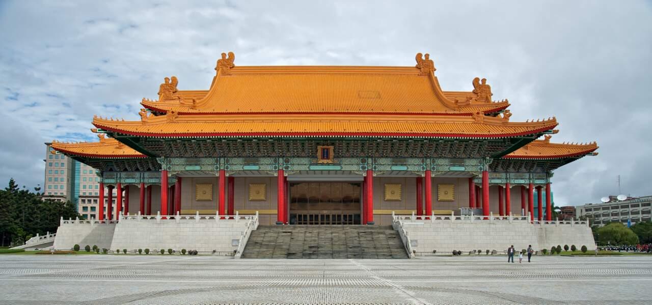 Le théâtre national de Taipei, à Taïwan