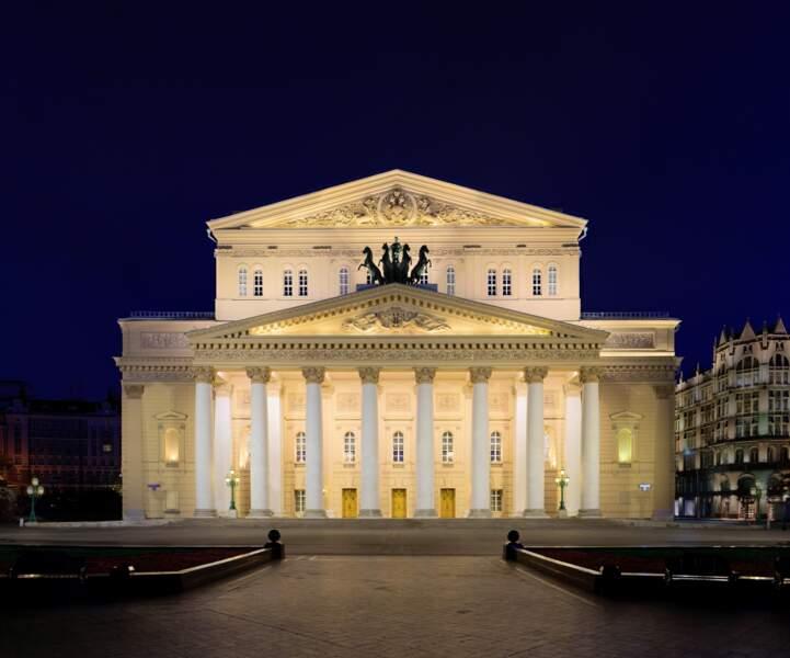 Le théâtre Bolchoï, à Moscou