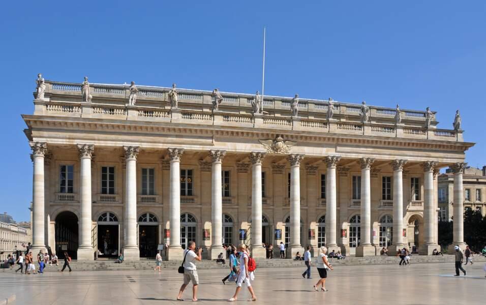 Le Grand Théâtre de Bordeaux, en France