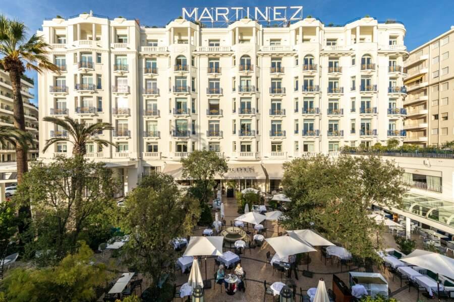 L'hôtel Martinez, à Cannes