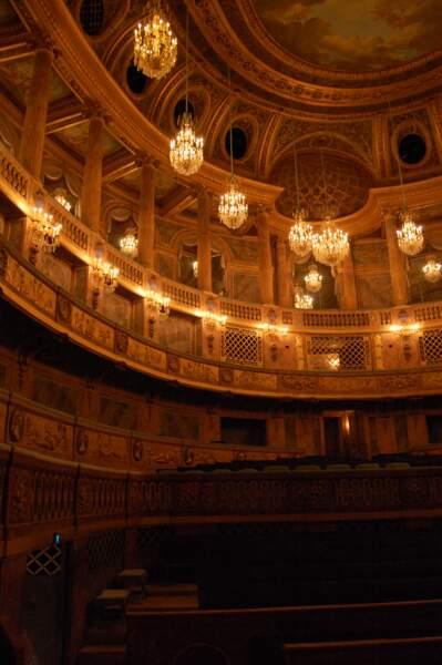 L'Opéra Royal du château de Versailles, en France