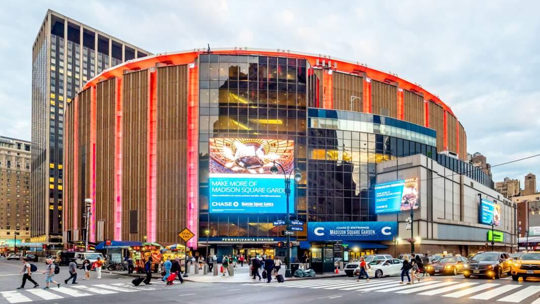 Le Madison Square Garden, à New-York