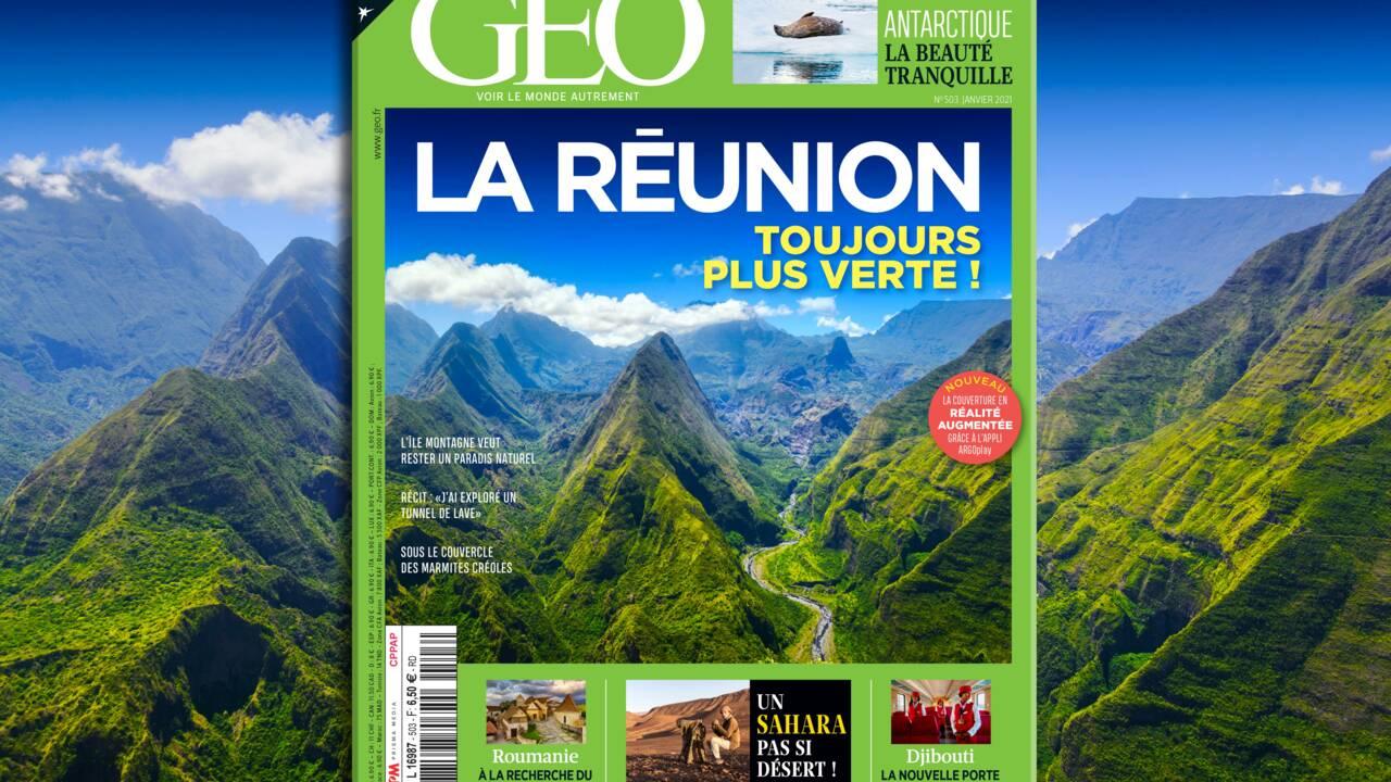 Toujours plus verte, La Réunion au sommaire du nouveau numéro de GEO