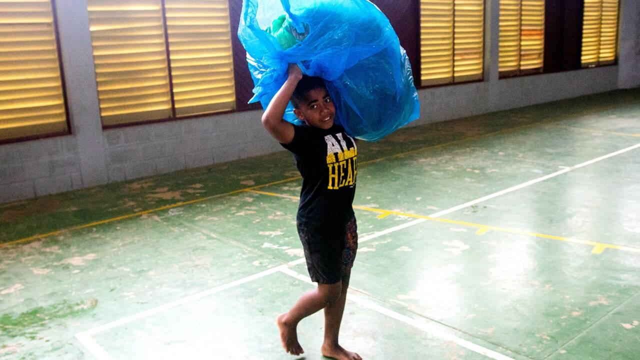 Les îles Fidji balayées par le super cyclone Yasa
