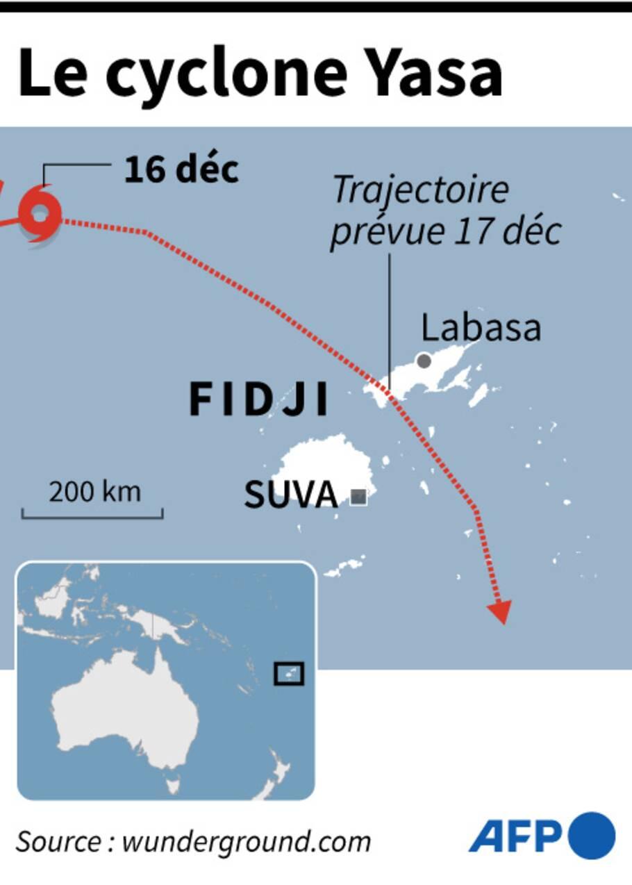 Les Fidji menacées de vagues géantes et d'inondations à l'approche du cyclone Yasa