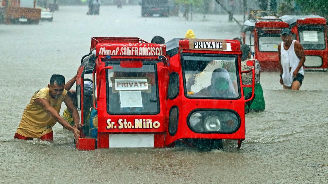 Philippines : deux morts, des centaines de sans abri après des pluies torrentielles