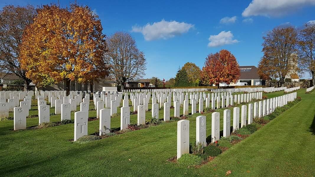 Le cimetière militaire britannique de Ranville