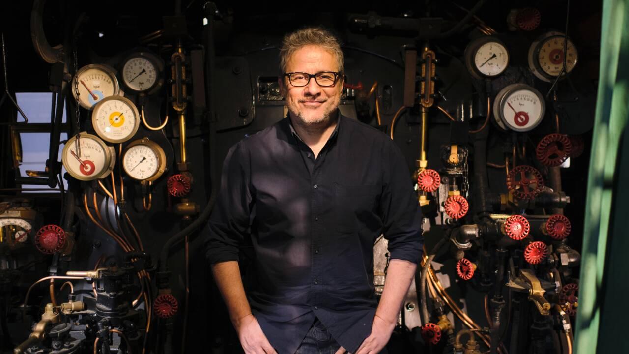 Philippe Gougler, train-train reporter