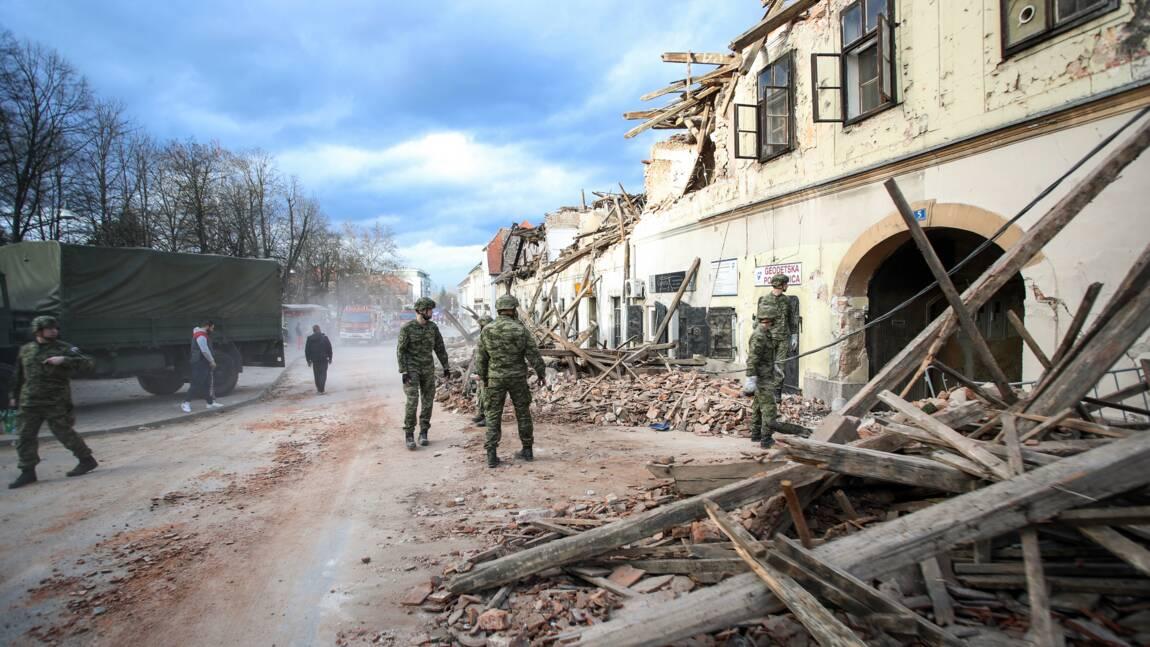 La Croatie prend la mesure du désastre après un séisme meurtrier