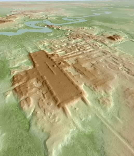 7 - Le plus grand et le plus ancien monument maya identifié au Mexique