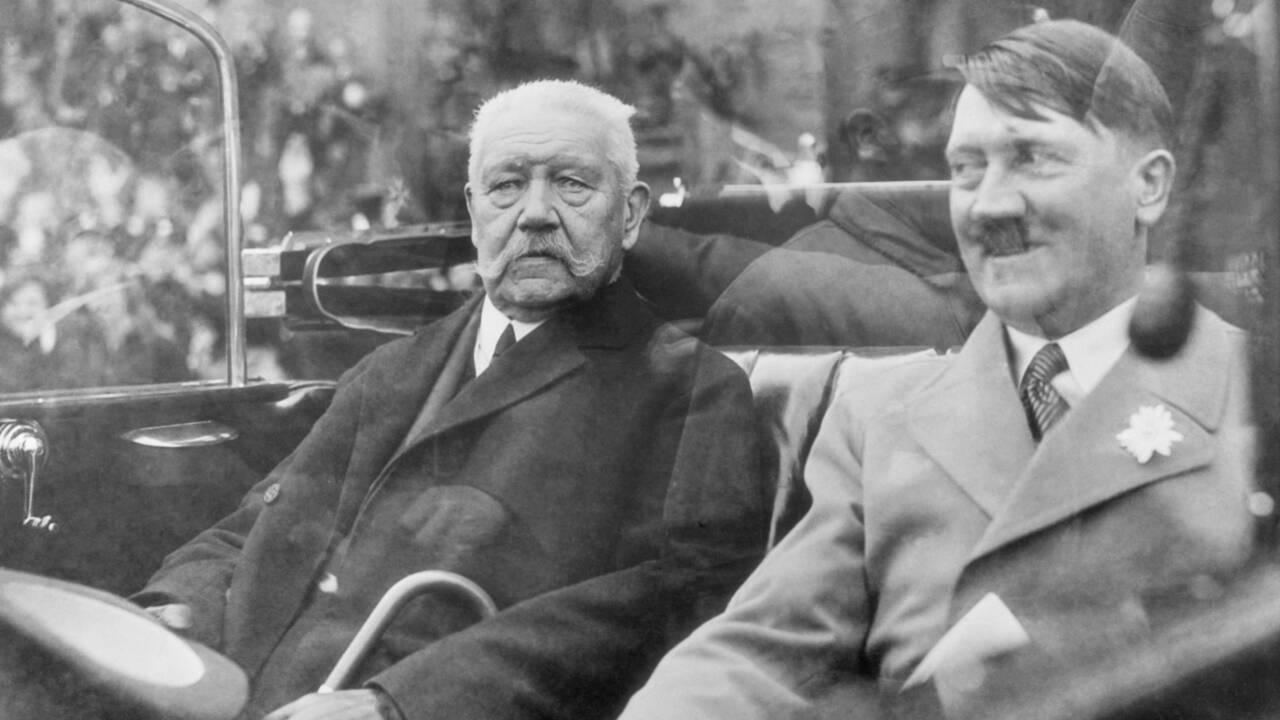 La faute d'Hindenburg : comment le président du Reich a permis aux nazis d'accéder au pouvoir