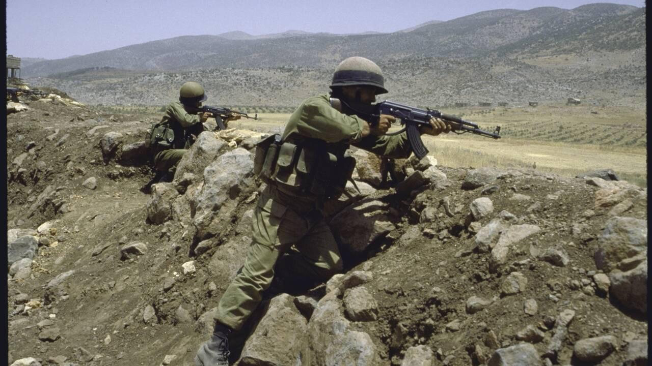 Le jeune homme et la guerre... du Liban