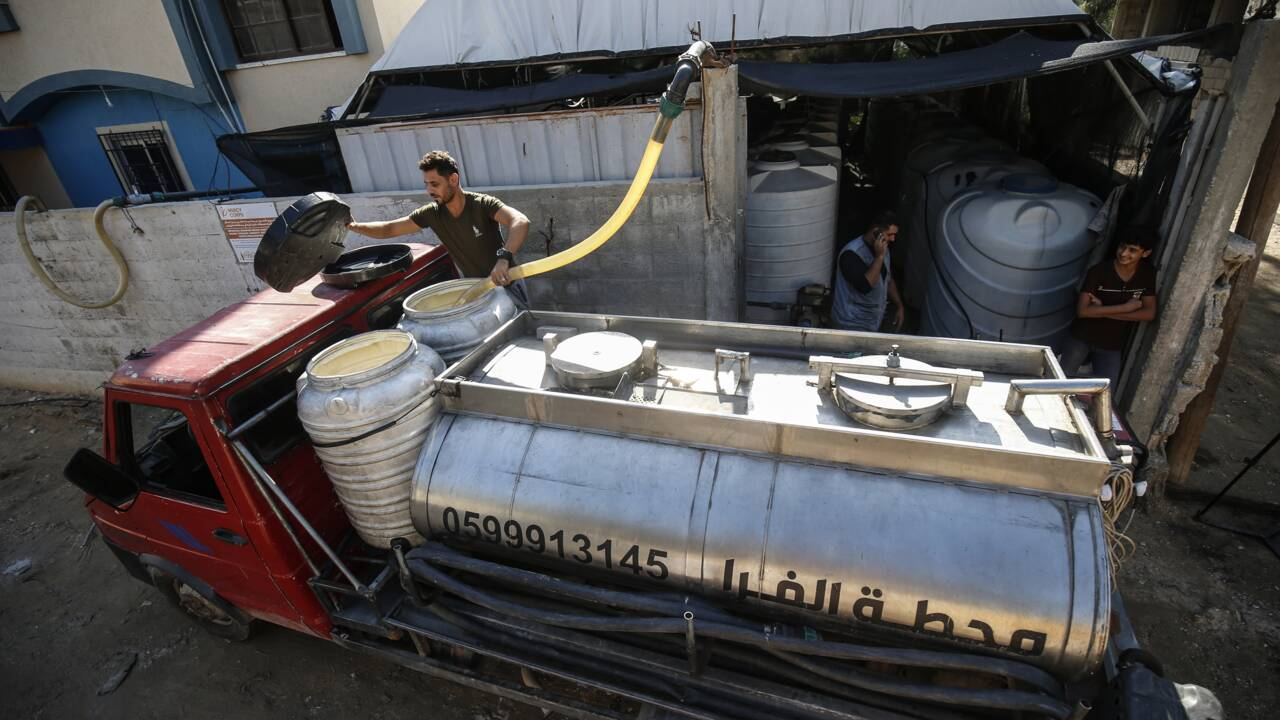 Comment une société israélienne transforme l'air en eau à Gaza