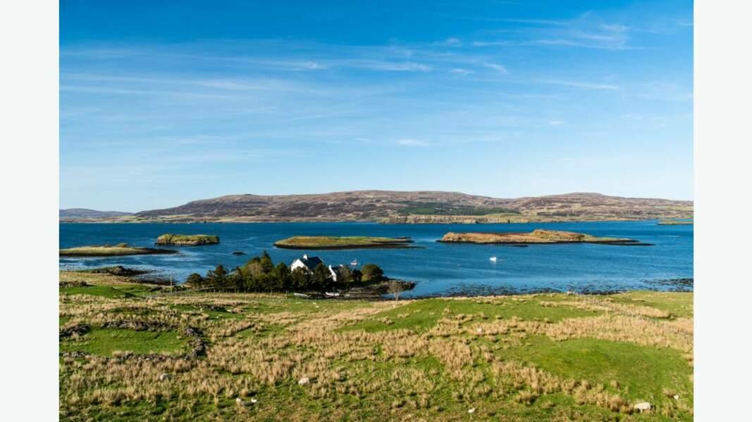 Loch situé sur l'île