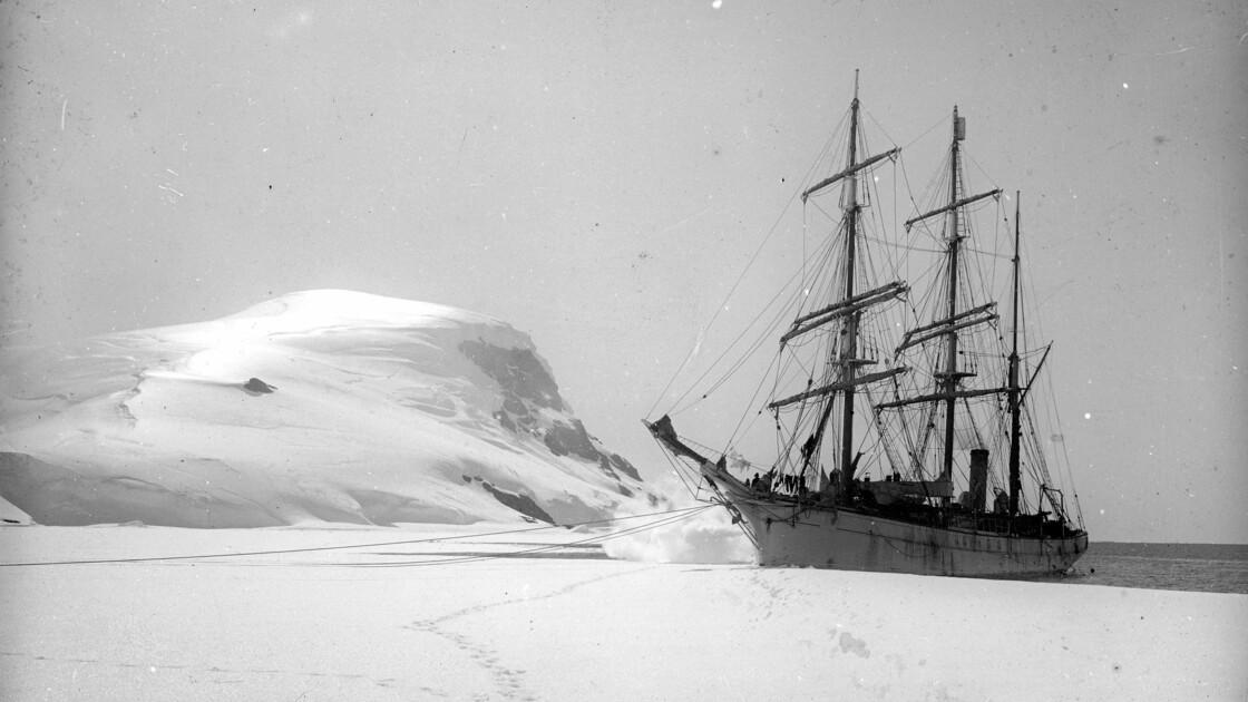 Charcot et l'Antarctique : face-à-face avec le continent de glace