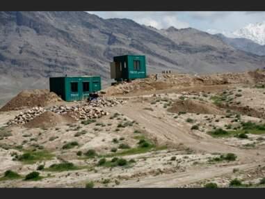 A Kaboul, la deuxième vie des conteneurs